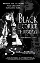 Black Licorice Thursdays - Live Rock Music