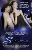 Satori Supperclub Saturdays