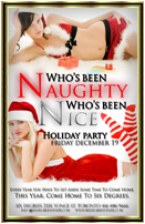 Nauhgty Or Nice Xmas Party